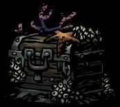 フジツボだらけの宝箱