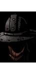 戦士の帽子