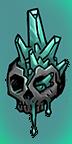 Petrified Skull